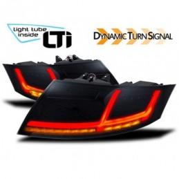 Feux arrière LTI avec clignotant dynamique pour AUDI TT (8J), TT 8J 06-14