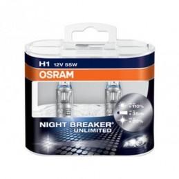 Lampe Halogène H1 Osram Cool Blue Hyper+ 5000K, Ampoules / Feux de jour