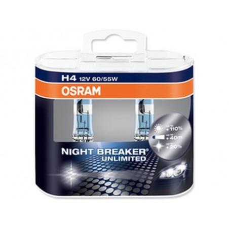Lampe Halogène H4 Osram Cool Blue Hyper+ 5000K, Ampoules / Feux de jour