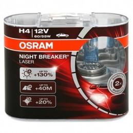 Lampe Halogène H4 Osram Night Breaker Laser 12V 60/55W, Ampoules / Feux de jour