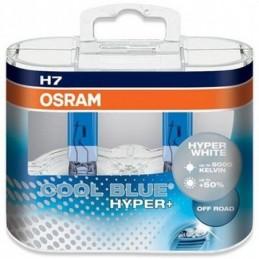 Lampe Halogène H7 Osram Cool Blue Hyper+ 5000K, Ampoules / Feux de jour