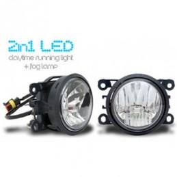 LED Feux diurnes &  LED Projecteurs antibrouillard  2 in 1 - Direct Fit!, Ampoules / Feux de jour