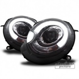 LED Light tube Projecteurs pour MINI R56/R57/R55/R58/R59, Cooper R55/R56/R57 07-13