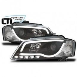 LTI Projecteurs Light Tube Inside pour AUDI A3 (8P), A3 8P 03-08