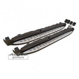 Marche-pieds en aluminium de AuCo pour Mercedes ML W166, ML W166