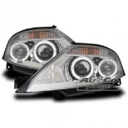 Projecteurs  avec 2 Angel Eyes  Citroen C3, C3