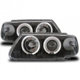 Projecteurs  avec 2 Angel Eyes  Citroen Saxo, Saxo