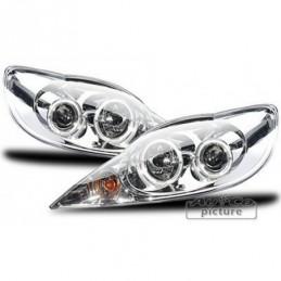 Projecteurs  avec 2 Angel Eyes  Peugeot 107, 107