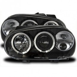 Projecteurs  avec 2 Angel Eyes  VW Golf 4, Golf 4