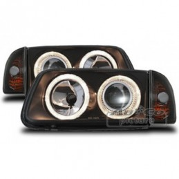 Projecteurs  avec 2 Angel Eyes  VW Polo (6N2), Polo III 6N/6N2 94-01