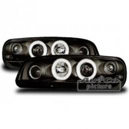 Projecteurs  avec Angel Eyes  Fiat Punto (Typ 188), Punto 2 (188)