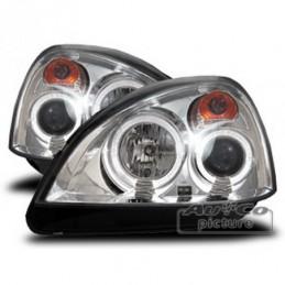Projecteurs  avec Angel Eyes  Renault Clio (II / 2), Clio II 98-05
