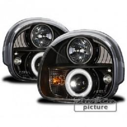 Projecteurs  avec Angel Eyes  Renault Twingo, Twingo I 92-06
