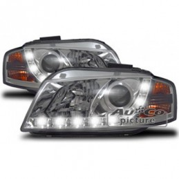 Projecteurs  Optique Feux Diurnes  Audi A3 (8P), A3 8P 03-08
