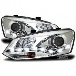Projecteurs  Optique Feux Diurnes  VW Polo (6R), Polo V 6R 09-14