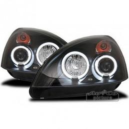 Projecteurs avec Angel Eyes pour RENAULT CLIO (2), Clio II 98-05