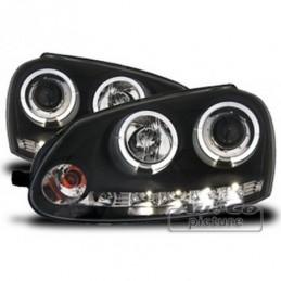 Projecteurs avec Angel Eyes pour VW GOLF 5, Golf 5