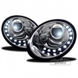 Projecteurs avec DRL-Look por VW NEW BEETLE 9C (GP), New Beetle