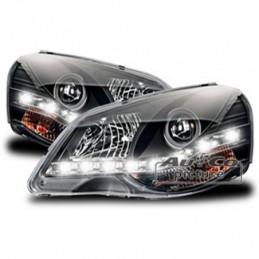 Projecteurs avec DRL-Look por VW POLO (9N3), Polo IV 9N/9N3 01-09