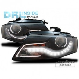 Projecteurs avec Feux Diurnes à LED Audi A4 (B8), A4 B8 08-11
