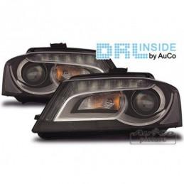 Projecteurs avec Feux Diurnes pour AUDI A3 (8P), A3 8P 03-08