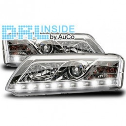 Projecteurs avec Feux Diurnes pour Audi A6 (4F) Xenon, A6 4F C6 04-10