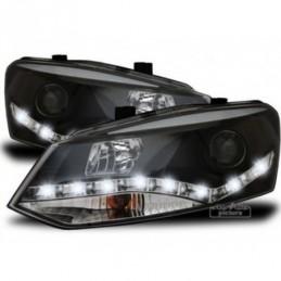 Projecteurs Optique Feux Diurnes pour VW POLO (6R), Polo V 6R 09-14