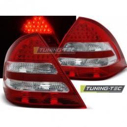 LED FEUX ARRIERE RED WHITE fits MERCEDES C-KLASA W203 SEDAN 04-07, Classe C W203