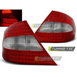 LED FEUX ARRIERE RED WHITE fits MERCEDES CLK W209 03-10, Clk W209