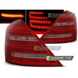 LED FEUX ARRIERE RED WHITE fits MERCEDES W221 S-KLASA 05-09,  Classe S W221