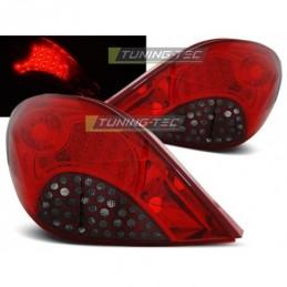 PEUGEOT 207 3D/5D 05.06-06.09 RED SMOKE LED, 207