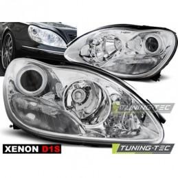 XENON PHARES AVANTS CHROME fits MERCEDES W220 S-KLASA 09.98-02,  Classe S W220