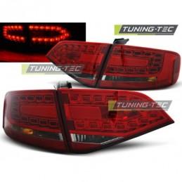 LED FEUX ARRIERE RED SMOKE fits AUDI A4 B8 08-11 SEDAN, A4 B8 08-11