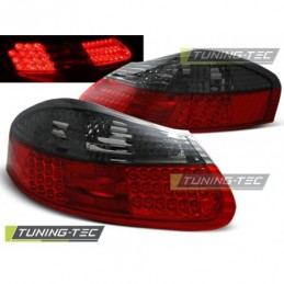 LED FEUX ARRIERE RED SMOKE fits PORSCHE BOXSTER 96-04, Boxster / Cayman
