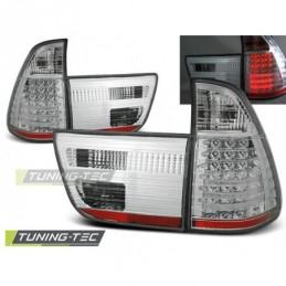 LED FEUX ARRIERE CHROME fits BMW X5 E53 09.99-10.03, X5 E53