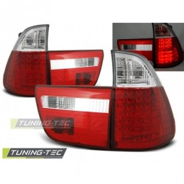 LED FEUX ARRIERE RED WHITE fits BMW X5 E53 09.99-10.03, X5 E53