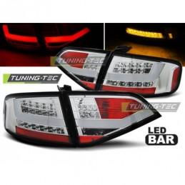 LED FEUX ARRIERE CHROME fits AUDI A4 B8 08-11 SEDAN, A4 B8 08-11