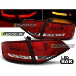 LED FEUX ARRIERE RED WHITE fits AUDI A4 B8 08-11 SEDAN, A4 B8 08-11
