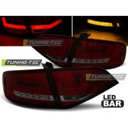 LED FEUX ARRIERE RED SMOKE fits AUDI A4 B8 08-11, A4 B8 08-11