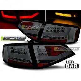 LED FEUX ARRIERE SMOKE fits AUDI A4 B8 08-11 SEDAN, A4 B8 08-11