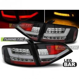 LED FEUX ARRIERE BLACK fits AUDI A4 B8 08-11 SEDAN, A4 B8 08-11