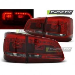 LED FEUX ARRIERE RED SMOKE fits VW TOURAN 08.10-, Touran II 10-15