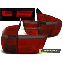 LED FEUX ARRIERE RED SMOKE fits BMW X5 E70 03.07-05.10, X5 E70