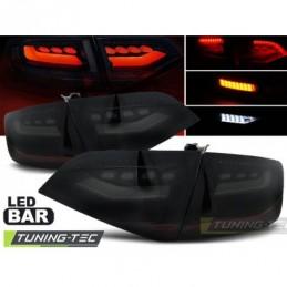 LED FEUX ARRIERE SMOKE BLACK fits AUDI A4 B8 08-11 SEDAN, A4 B8 08-11