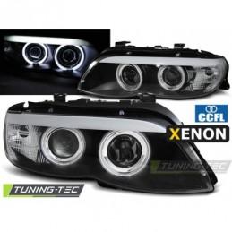 XENON PHARES AVANTS ANGEL EYES CCFL BLACK fits BMW X5 E53 11.03-06, X5 E53