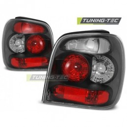 FEUX ARRIERE BLACK fits VW POLO 6N 10.94-09.99, Polo III 6N/6N2 94-01
