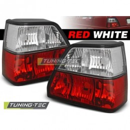 FEUX ARRIERE RED WHITE fits VW GOLF 2 08.83-08.91, Golf 2