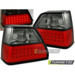 LED FEUX ARRIERE RED SMOKE fits VW GOLF 2 08.83-08.91, Golf 2