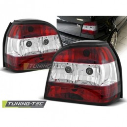 FEUX ARRIERE RED WHITE fits VW GOLF 3 09.91-08.97, Golf 3