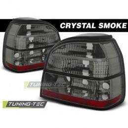 FEUX ARRIERE CRYSTAL SMOKE  fits VW GOLF 3 09.91-08.97, Golf 3